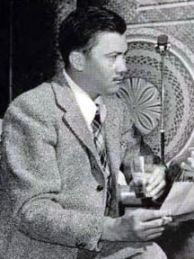 Leslie Charteris as The Saint