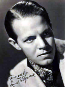 Louis Hayward autographed photo