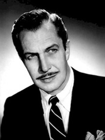 A sinister Vincent Price
