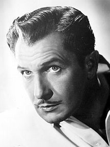 Vincent Price as The Saint