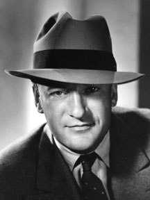 George Sanders as The Saint