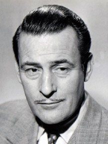 Tom Conway in The Checked Coat (1948)