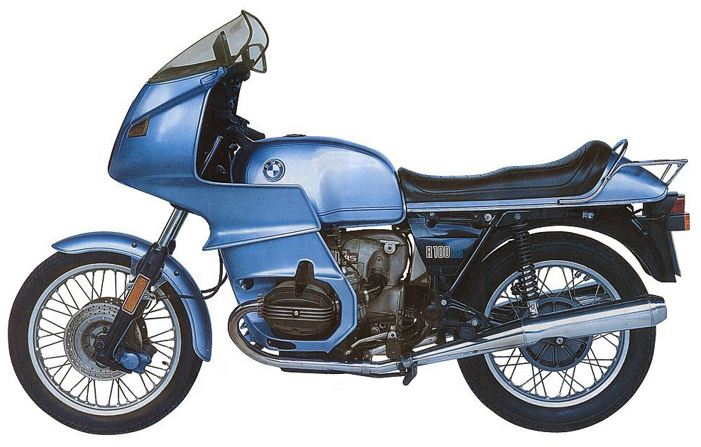 St2 The Saint S 1977 Bmw R100rs Motorcycle