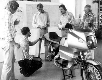 BMW Motorcycle Design Team