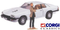 The Saint: Jaguar XJS with Simon Templar figure