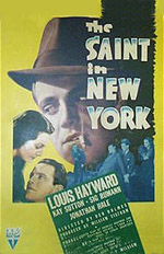 The Saint in New York movie poster #2