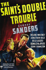 The Saint's Double Trouble movie poster