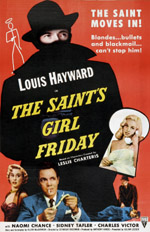 The Saint's Girl Friday movie poster