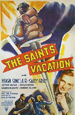 The Saint's Vacation movie poster