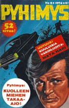 1974 Pyhimys Comic from Finland
