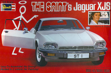 The Saint's Jaguar Model by Revell
