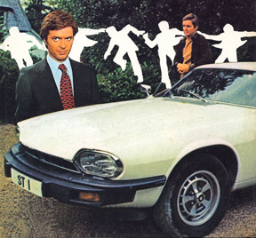 The Saint Ian Ogilvy with Jaguar