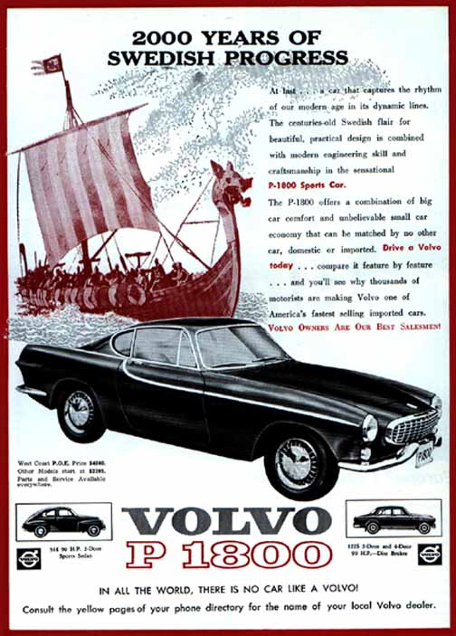 The Saint S Volvo 1800