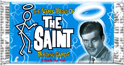The Saint Trading Cards Wrapper