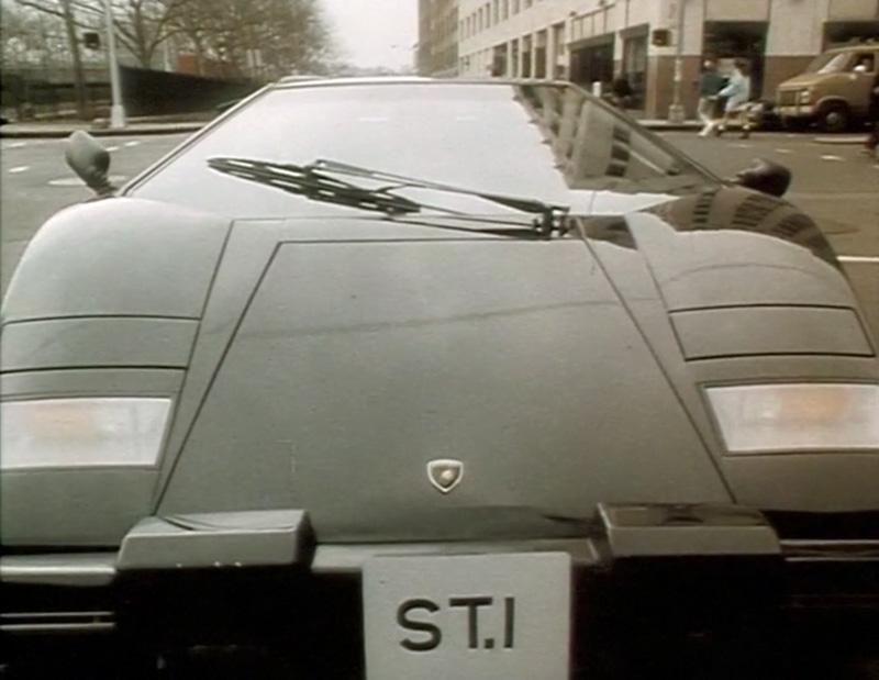 The Saint S Lamborghini Countach 5000qv